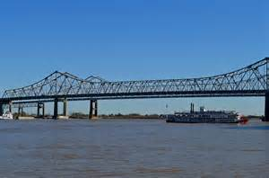 Crescent City Connection Bridge New Orleans