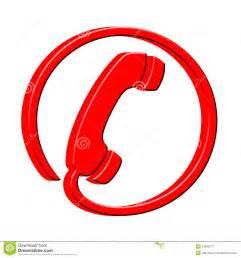 design telefone ícone do receptor do telefone 3d fotos de stock imagem 23366673