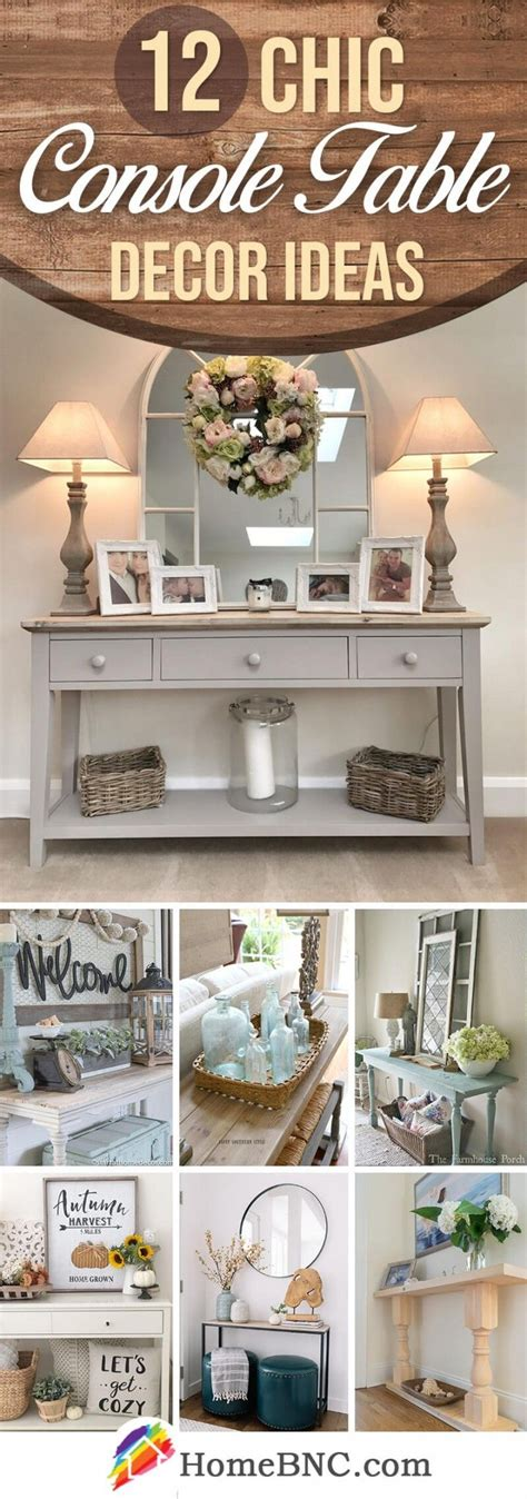 console table decorating ideas en  console salon