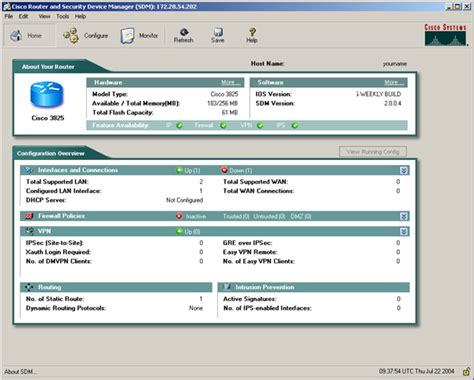Cisco Router and Security Device Manager Product Views ...