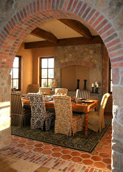 Charming And Charismatic Mediterranean Dining Room Design