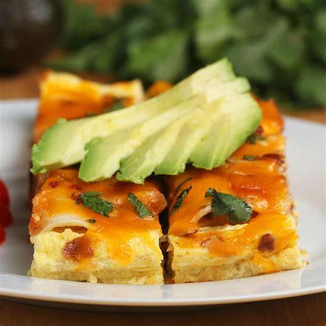 Make-Ahead Breakfast Enchiladas Recipe by Tasty