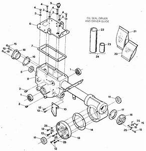 Transmission Housing  Covers  Seals  Gaskets  U0026 Plugs Diagram  U0026 Parts List For Model