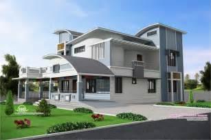 Modern Unique Style Villa Design  Kerala Home Design And