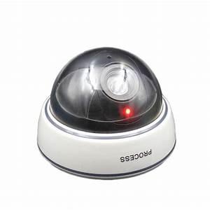 Camera De Surveillance Interieur : camera factice de surveillance pour int rieur avec leds ~ Carolinahurricanesstore.com Idées de Décoration
