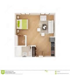 efficiency kitchen ideas studio apartment floor plan isolated on white stock