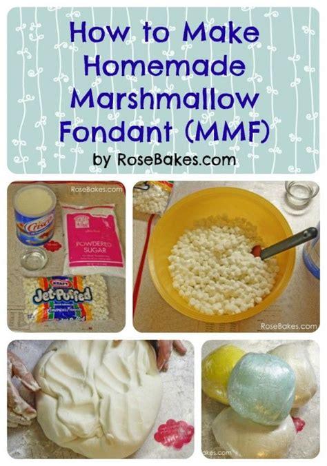 how to make marshmallow fondant fondant tutorial picmia