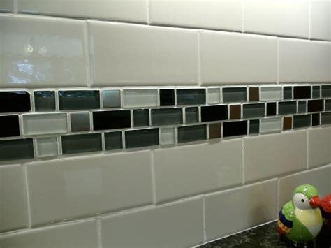 home depot white subway tile backsplash backsplash subway tile with mosaic tile kitchen