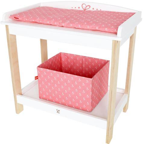 jouet table a langer table langer jouet bois hape