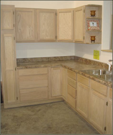 Home Improvements Refference Unfinished Pine Cabinets Home