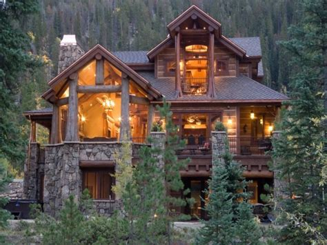 pioneer log cabin  beautiful log cabin homes mountain cabin design treesranchcom