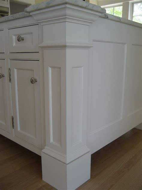 kitchen island molding harvard ma custom build frame to finish traditional
