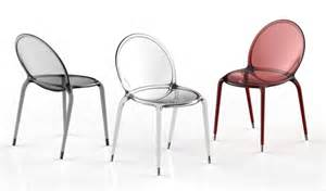 Chaises Polycarbonate Design by Stackable Polycarbonate Chair Loop By Roche Bobois Design