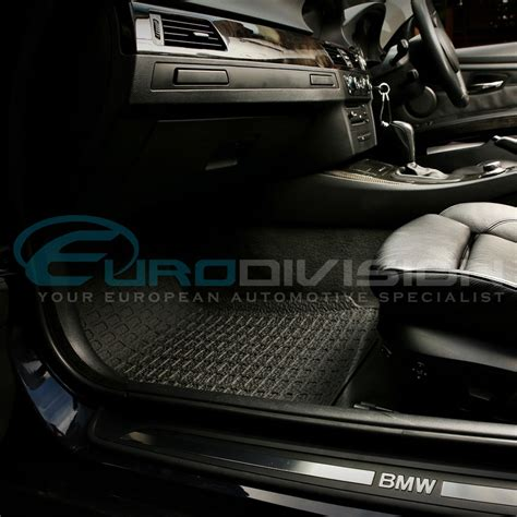 Bmw Floor Mats 335i by Bmw 3 Series E92 E93 3d Rubber Floor Mats Custom