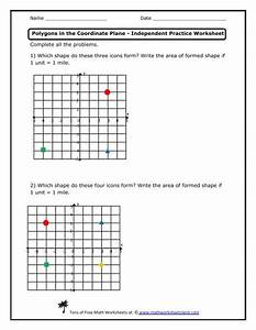 Polygons In The Coordinate Plane Independent Practice