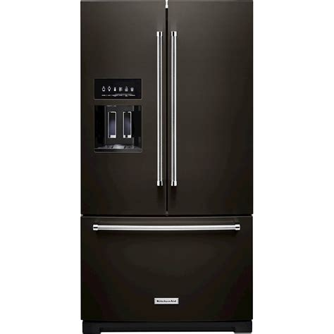Kitchenaid Refrigerator Tech Support by Kitchenaid 27 Cu Ft Door Refrigerator Black