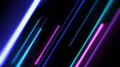 Pink Neon Purple Background Line Formation Colorful