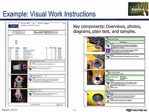 ensuring value part 3 standardized work best practices With visual work instruction template