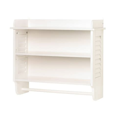 White Bathroom Wall Cabinet With Drawers by Nantucket White Wood Wall Mount Cabinet Bathroom Storage