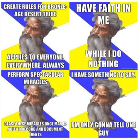 God Memes - more advice god religion poisons