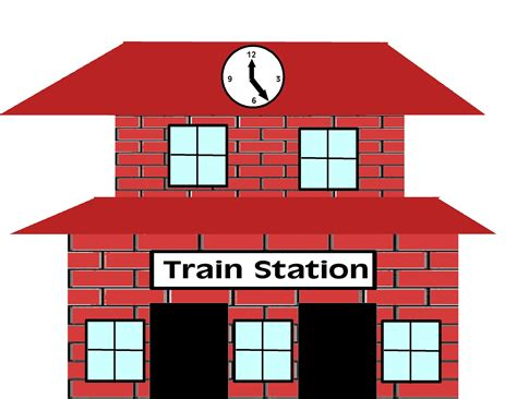 Station Clipart Station Clipart Clip Of Clipart 942