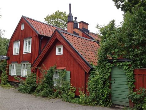 This House Is In An Old Part Of Stockholm, Sweden, On A
