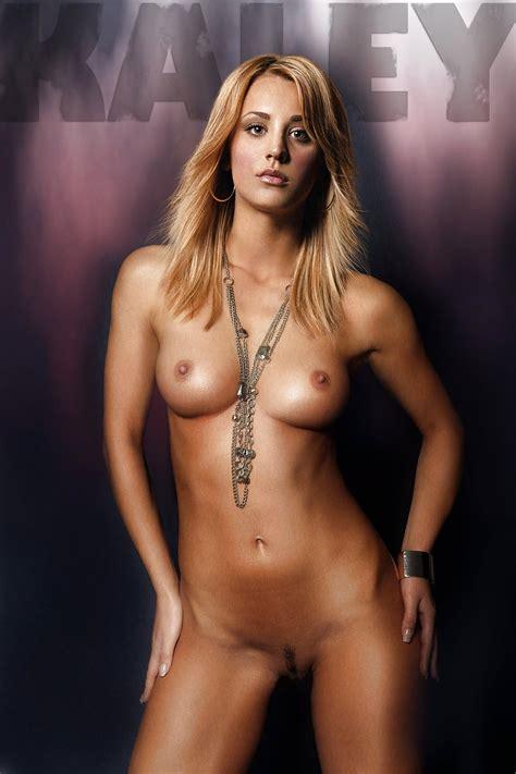 Kaley Cuoco Fake Nude Photos Famous