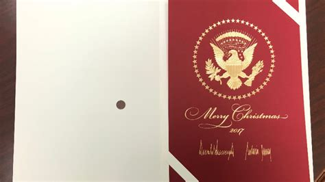 christmas huge template of course trump s christmas card is obnoxiously large