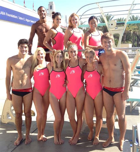 college girls swim team oops