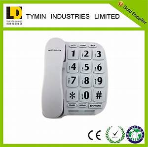 best selling home telephone big letters phone home phones With big letter phones