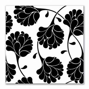 Floral Canvas Prints in black and white. Mono canvas art