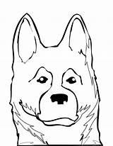 Shepherd German Coloring Dog Puppy Pages Drawing Face Shepherds Dogs Australian Drawings Draw Breeds Clipartmag Getdrawings Animals Animal Adults Popular sketch template