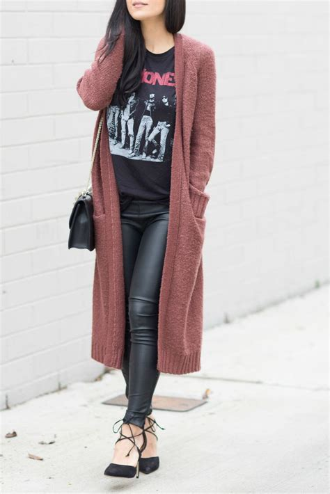 Duster Cardigan Outfits - Long Sweater Jacket