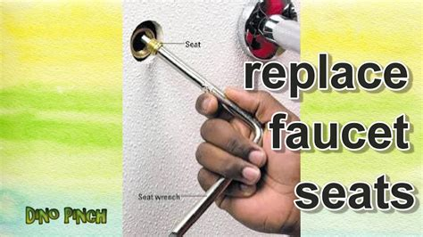 replace brass faucet seats youtube