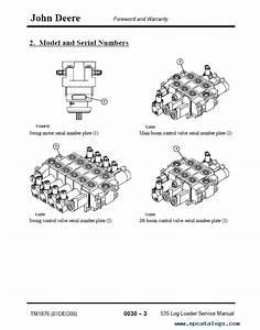 John Deere 535 Log Loader Tm1876 Technical Manual Pdf