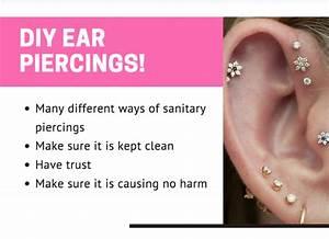 Diy Ear Piercings  U2013 Sequoit Media