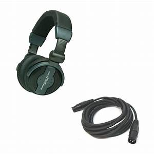 American Audio HP 550 Professional DJ Headphones w/ 15 Ft ...