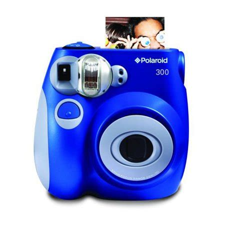 Polaroid 300 Instant Blue polaroid pic 300 instant analog color