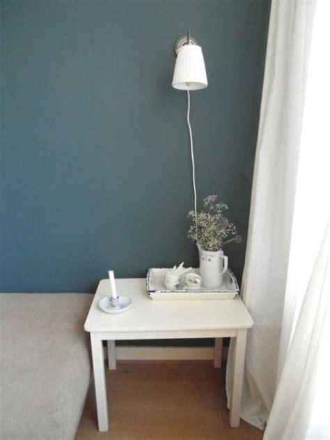 blauw grijs muur slaapkamer muur kleuren ideeen voor