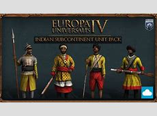 Europa Universalis IV Indian Subcontinent Unit Pack PC