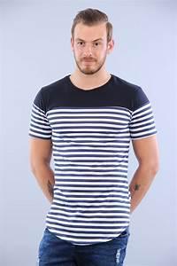 T Shirt Mariniere Homme : t shirt marini re homme cintr ~ Melissatoandfro.com Idées de Décoration