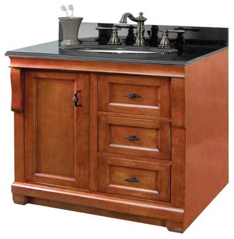 Foremost Naples Bathroom Vanity by Foremost Naples 24 Inch Vanity In Warm Cinnamon Finish