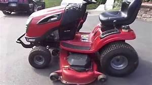 54 U0026quot  Craftsman Yard Tractor Lawn Mower With 26 Hp Kohler