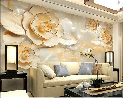 3d Wallpaper For Wall by 3d Wallpaper Bedroom Mural Roll Modern Luxury Flower