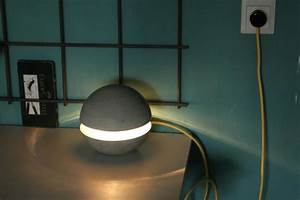 Kreativ Beton Bauhaus : betonlampe lampe aus beton selber machen ~ Michelbontemps.com Haus und Dekorationen