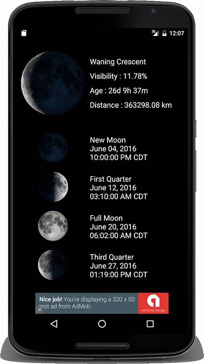 Phases Moon Phase Lunar Android Percentage Rare