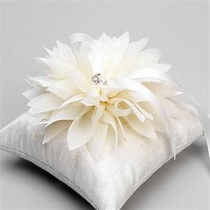 wedding ring pillow bridal ring pillow flower ring by With pillows for wedding rings