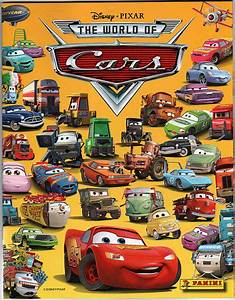Disney Pixar CARS Stickler for Stickers of Stickers McQueen? Take Five a Day