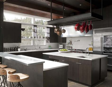 industrial kitchen cabinets kitchen modern  appliances