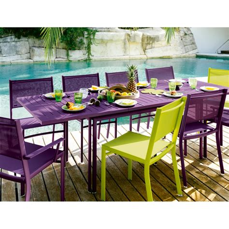 achat canapé en ligne table de jardin rectangle avec allonge costa fermob